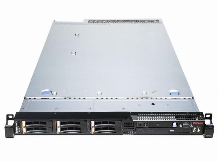 Server RD210 – vzdálený management