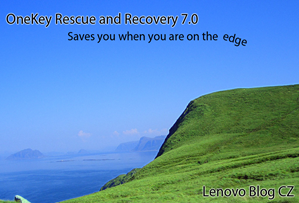 OneKey Rescue and Recovery 7.0: návod + video