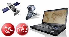 ThinkVantage GPS a Communications Utility: navigace a webové konference