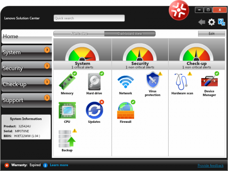 LSC-home-dashboard