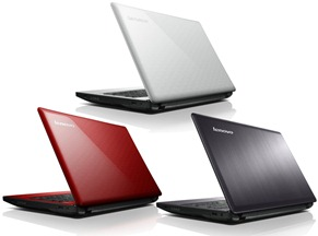 IdeaPad Z580 : Farby a Konfigurácie