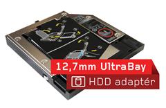 12,7mm ultrabay adaptér pro pevný disk (živé představeni)