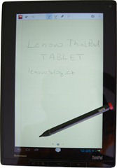 Lenovo ThinkPad Tablet: jde na to jinak (ohlédnutí)