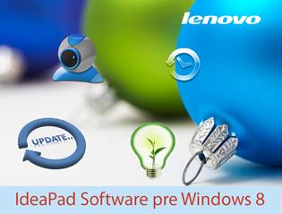 IdeaPad Software: Grafické vylepšenia prispôsobené Windows 8