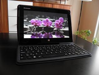 Miix 10: Tablet s klávesnicou a neuveritel'ným zvukom