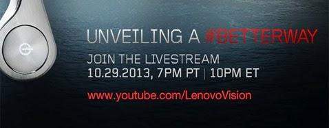 """29. října Lenovo s """"Jobsem"""" představují #BETTERWAY"""