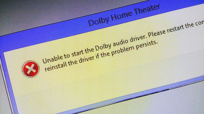 Problém s Dolby po aktualizaci na Windows 8.1