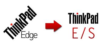 ThinkPady Edge se přejmenovávají