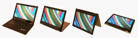 IdeaPad Yoga 2 Pro: stejně ohebná, ale lehčí, tenčí a se skvělým displejem