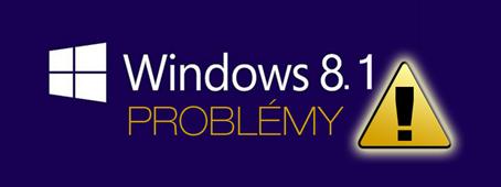 Obecná řešení problémů po aktualizaci na Windows 8.1