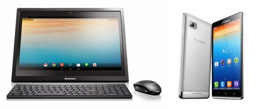 CES 2014: Android All-in-One N308 a mobil Vibe Z