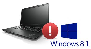 ThinkPady S a Windows 8.1: bootovací smyčka a černá obrazovka (řešení)