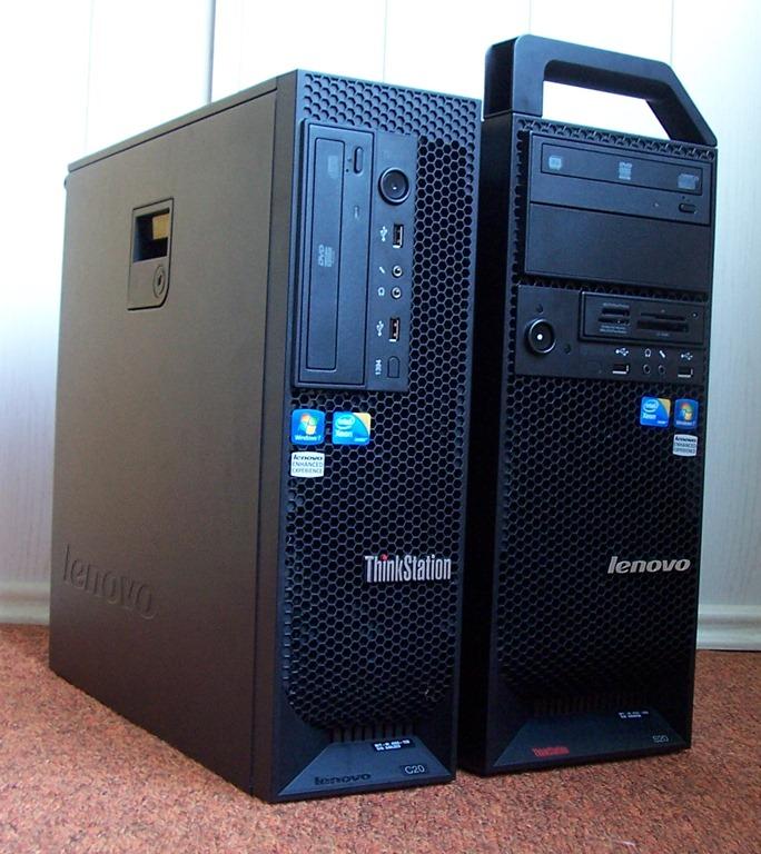 Workstationy Lenovo: ThinkStation S20 a C20 – představení