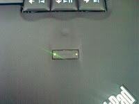 Snímač otisku prstů s diodami