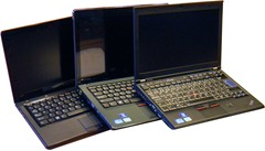 Tři dvanáctky Lenovo: U260, E220s a X220 (živé srovnání)