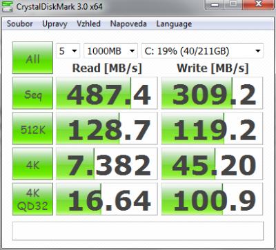 CrystalDiskMark3