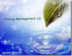 Nový Energy Management 7.0 (Doplnenie)