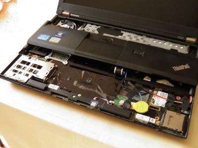 Příprava pro 3G modem v ThinkPadu X220