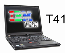 IBM ThinkPad T41 – Letitý tahoun? (ohlédnutí)