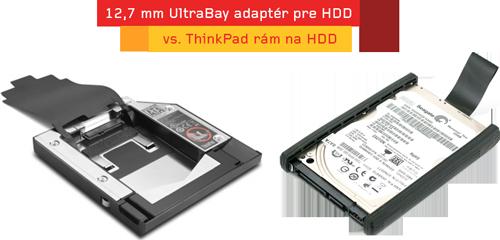 Zaistenie stability pevného disku v ultraBay adaptéry