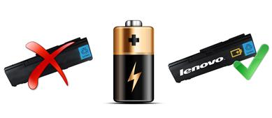 Nové ThinkPady versus neoriginální baterie