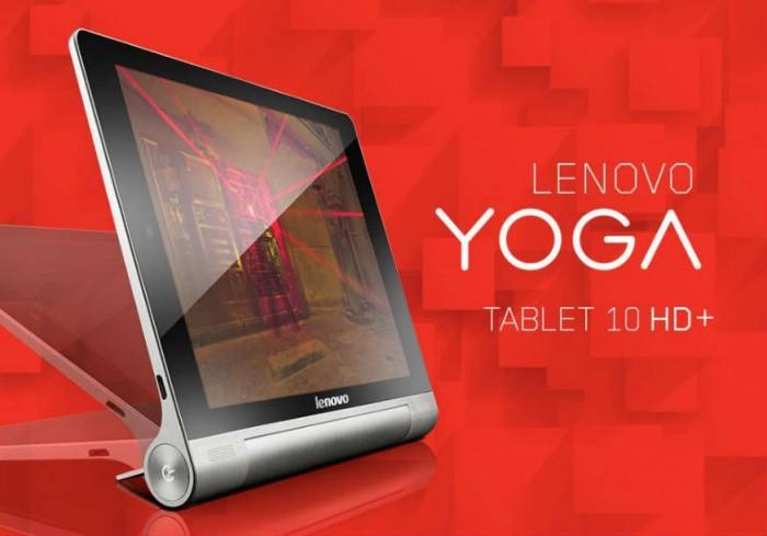 Yoga Tablet 10 HD+: Full HD displej, štvorjádro Qualcomm