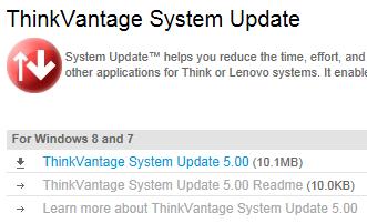 lenovo vantage system update
