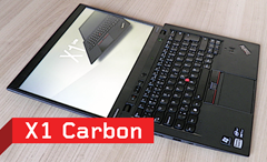 ThinkPad X1 Carbon: Černé pírko pro business (Test)