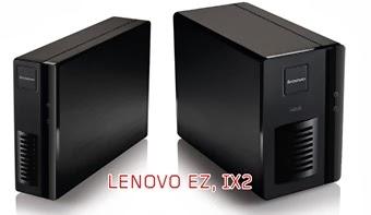 NAS Lenovo: domácí EZ a firemní IX2 (test)
