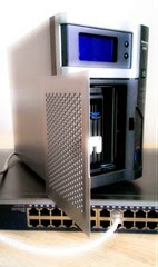 Nastavujeme NAS server po vybalení z krabice