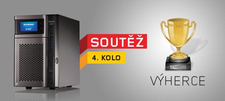 Velká soutěž o 4x NAS Lenovo: vyhlášení výherce 4. kola