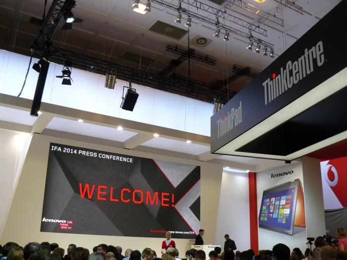 IFA 2014: Krátký report z tiskové konference Lenovo