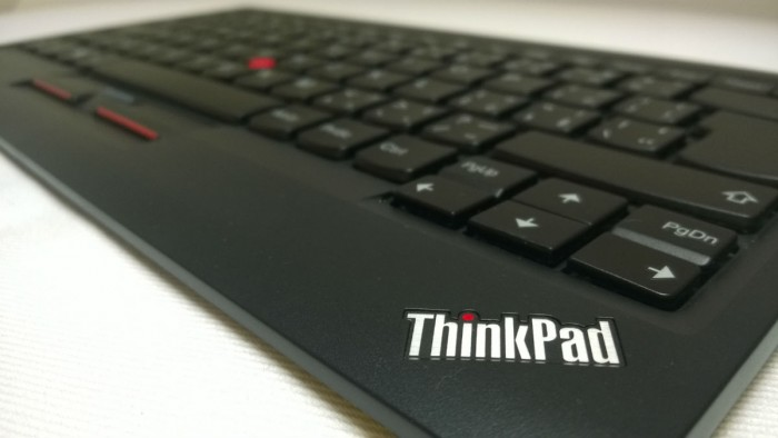 Zkušenosti s ostrůvkovou USB klávesnicí s TrackPointem
