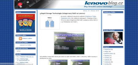 Lenovo Blog CZ 2010