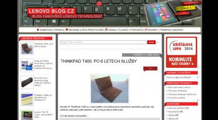 Lenovo Blog CZ 2014