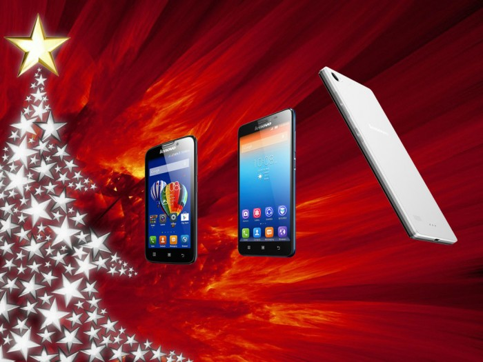 """Soutěž o 3 smartphony """"Svátky s mým mobilem Lenovo"""""""