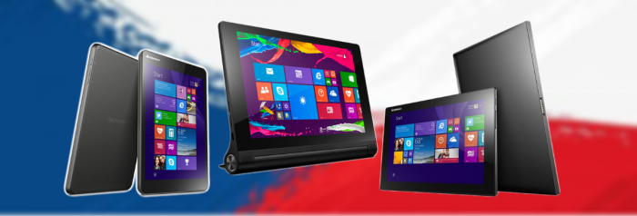 Yoga Tablet 2 8″ s Windows a Miix 3 8″ a 10″ skladem!