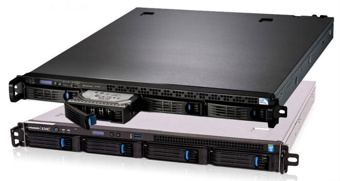 NAS Lenovo: představení 4diskových PX4 do racku