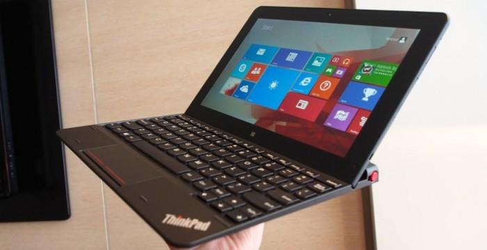 ThinkPad Tablet 10 s přídavnou klávesnicí: Ještě to chce pilovat