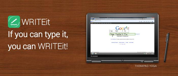 WRITEit beta: Dlho očakávaná aplikácia na prevod písma je tu!