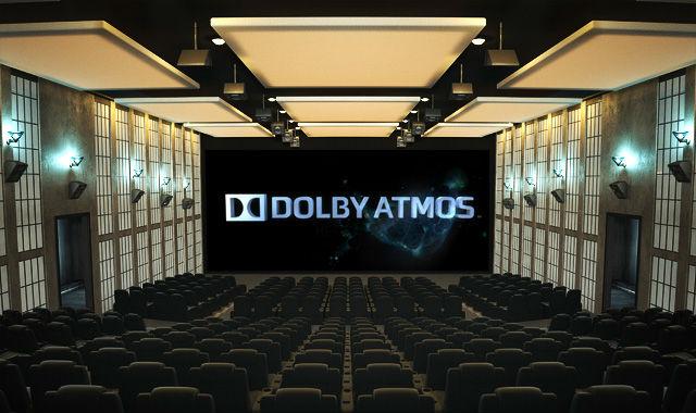 Referenční kino Dolby Atmos