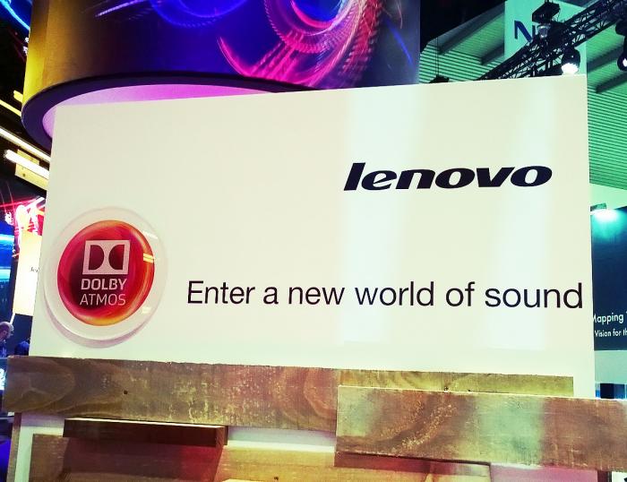 Dolby Atmos a Lenovo