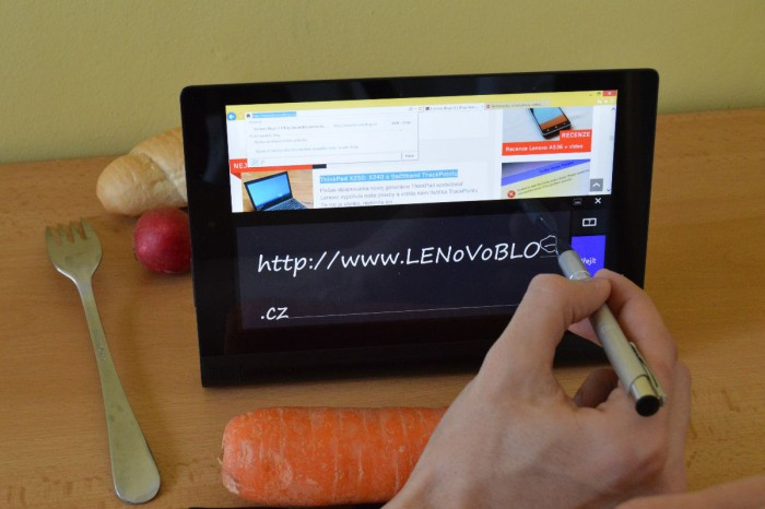 Yoga Tablet 2 8″ – tentokrát s Windows a AnyPen