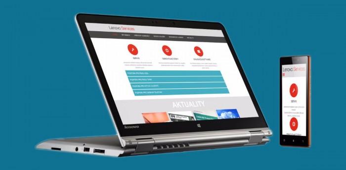 Nový web českého portálu podpory Lenovo