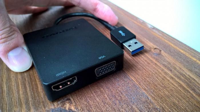Universal USB 3.0 to VGA/HDMI Adapter: HDMI a VGA do kapsy pro každého