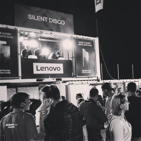Lenovo na Rock For People by @dufekr