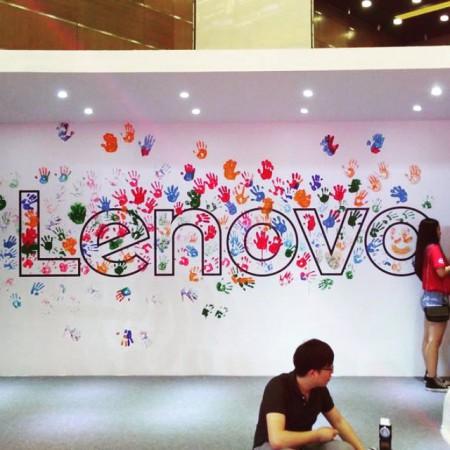 Lenovo Tech World stěna by @lenovo