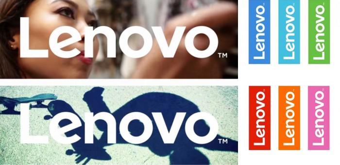 Lenovo logo barevné typy