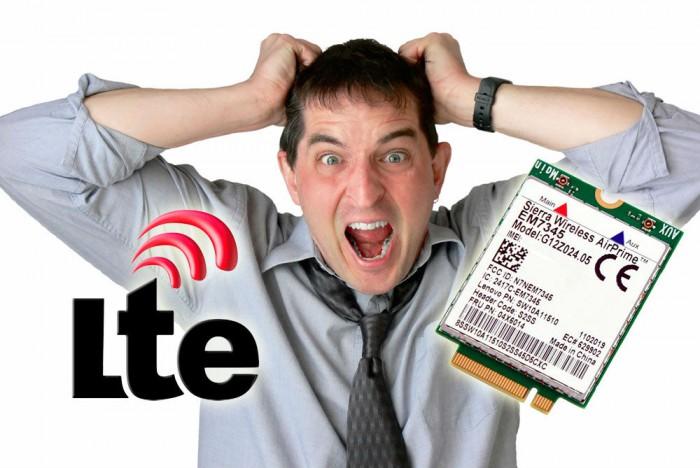 Řešení problémů s LTE modulem Sierra Wireless EM7345
