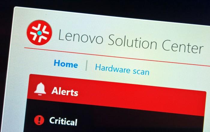 Bezpečnostní hrozba Lenovo Solution Center: aktualizujte!